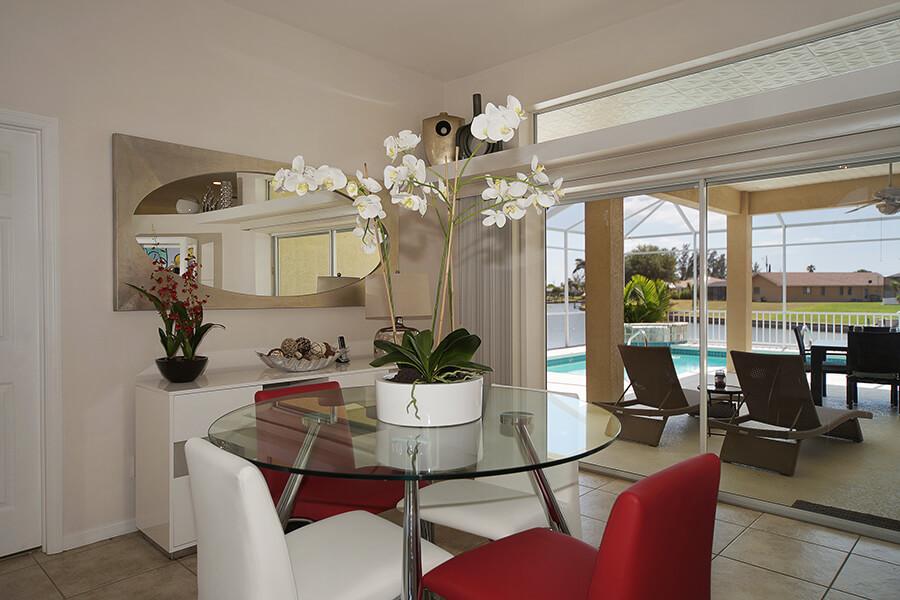 Hier sehen Sie Hochsitzgruppe im Ferienhaus Coral Belle in Cape Coral
